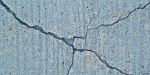 soil types cracked walls